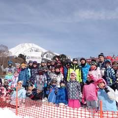 富士山のスキー場も小学校無事終了